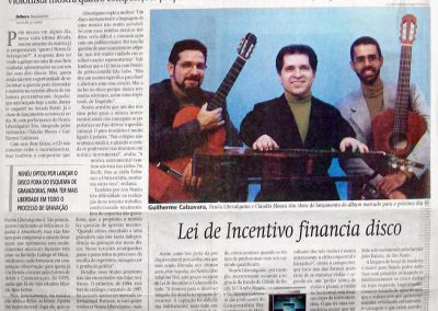 Nenéu Liberalquino lança terceiro CD